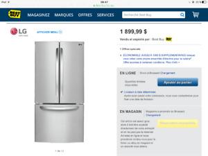 Refrigerateur neuf LG
