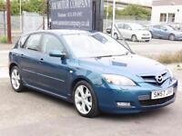 Mazda 3 2.0 Sport, 2007, 58 000 Miles, FSH, 6 Month AA Warranty, Hatchaback