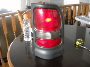 1994-2002 Dodge pickup right and left rear tail lights.