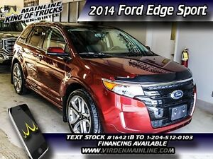 2014 Ford Edge Sport  - $280.76 B/W - Low Mileage