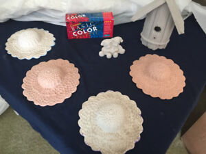 CERAMIC PAINTS AND GREENWARE