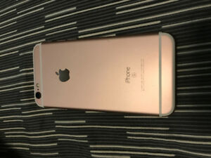 iPhone 6S - 8.5 out of 10 condition. Rogers. Rose gold 16 gigs