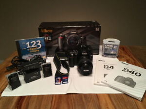 Nikon D40 (kit complet)