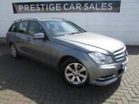 2014 Mercedes-Benz C Class 2.1 C220 CDI SE (Executive) 5dr Diesel silver Manual