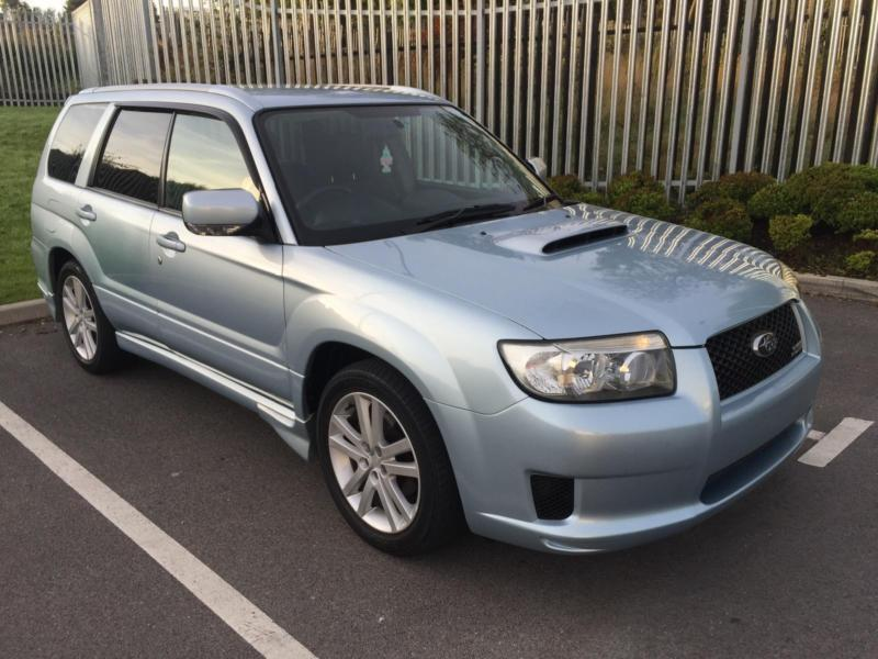 2005 55 Sti Look Subaru Forester 20 Turbo Cross Sports Automatic