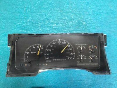 1995 - 2000 Chevy GMC truck 100MPH Instrument Cluster Speedometer
