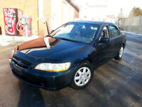 1999 Honda Accord Berline ex v6