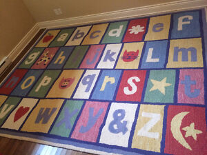 """Pottery Barn """"ABC"""" Wool Rug for Playroom/Kid's room West Island Greater Montréal image 3"""
