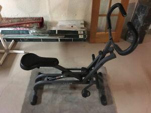 Healthware, Gravity Exerciser Fitness Bike with Arm Exerciser.