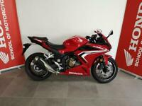 Honda CBR500R ABS 2021 in Red