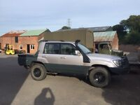 Toyota Landcruiser pick up, Ute, expedition, overland.