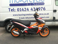 Honda NSC50R Sporty Vision / Honda Repsol Racing Colours Learner Legal Scooter