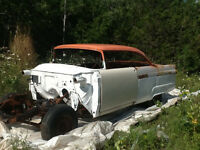 Project Car. 1956 Ford Victoria