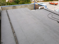 Torch on roofing