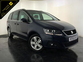 2015 SEAT ALHAMBRA SE ECOMOTIVE CR 7 SEATER MPV 1 OWNER FINANCE PX WELCOME