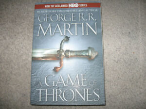 George R.R. Martin-Game of Thrones-Large softcover edition