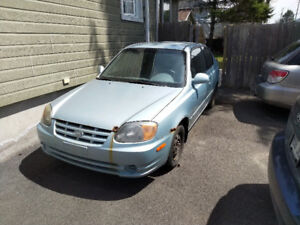 2005 Hyundai Accent GS Coupe