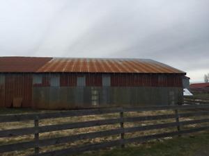 Barn Demolition Materials Available
