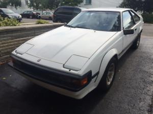 1985 Toyota Supra Manuelle