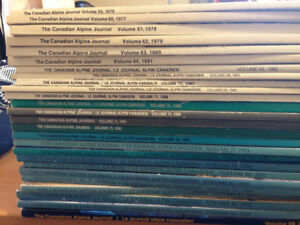 The Canadian Alpine Journal Collection - Climbing/Mountaineering