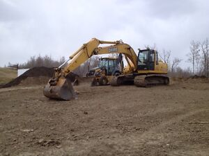 Excavator for hire with operator