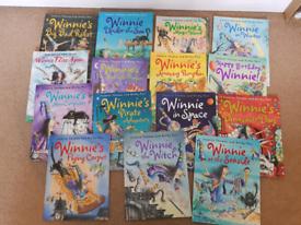 Winnie the witch books x 15