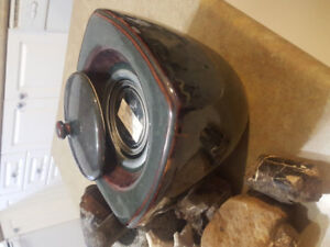 Earthware Fire Pot - With Insert