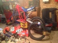 Selling my 1986 cr 250 with new top end 0 hours !!