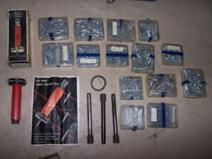 OBO tools and complete fastener kits for CONCRETE.