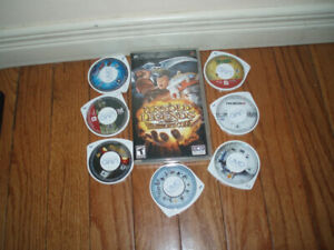 Sony PlayStation 3 and Sony PSP Games