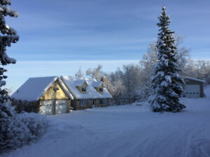 Stunning Acreage minutes from Dawson Creek!