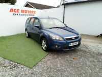 2008 58 FORD FOCUS 1.8 TDCi Zetec 115 BHP,ESTATE,ONLY 90,000 MILES WITH FULL