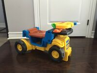 Fisher price tonka toys. Riding and play toys