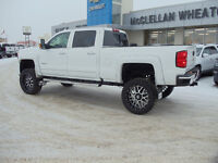 2016 SILVERADO HIGH COUNTRY DIESEL LIFTED !!!