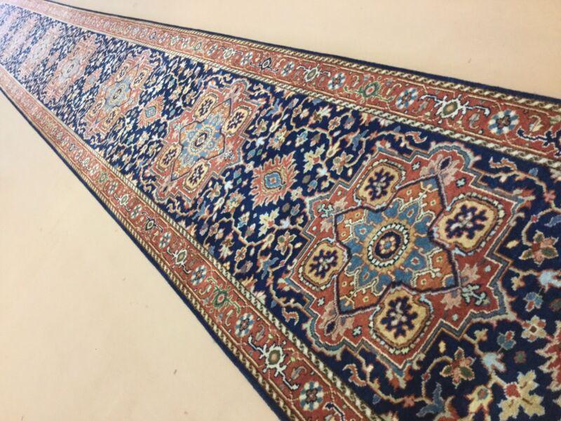 Stunning 3x24 Serapi Handmade Persian Oriental Rug Long Runner 2