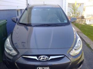 2012 Acccent sedan