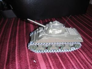 Diecast Military Tank Solido #231 (1972), Sherman M4 A3 Kingston Kingston Area image 1
