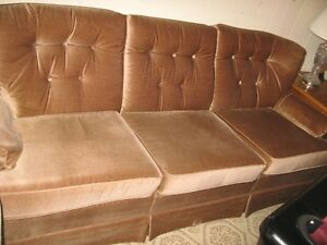 Light Brown Colour Couch and Chair for  Sale