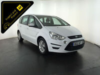 2012 FORD S-MAX ZETEC TDCI DIESEL 7 SEATER 1 OWNER FROM NEW FINANCE PX