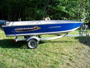 14ft boat and trailer