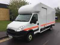 2013 Iveco Daily 70C17 Luton Box Van Side Loading Door TL Manual Luton