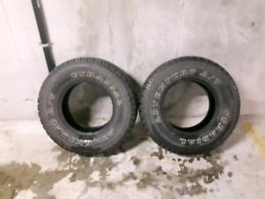 265/75r16 tires x 2