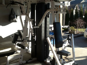 Multi stack home gym