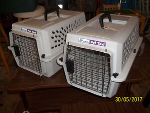 Two Small Pet Carriers/Pet Taxi (Petmate)