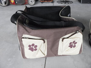 Dog Carrier, Soft Sided, Double Wide