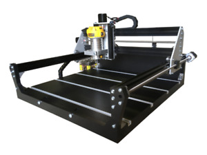 Computerized CNC routing machine with lessons on how to use it