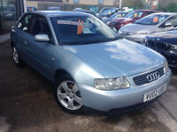 2002 (02) Audi A3 1.8 auto SE **Drives and Looks Great**