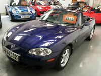 2004 54 reg MAZDA MX5 1.6cc - 1 FORMER KEEPER - EXCELLENT CONDITION