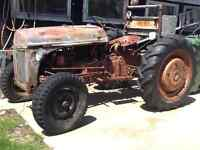 9N. Ford tractor.