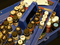 Assorted Air Brush or Model Paint Kit